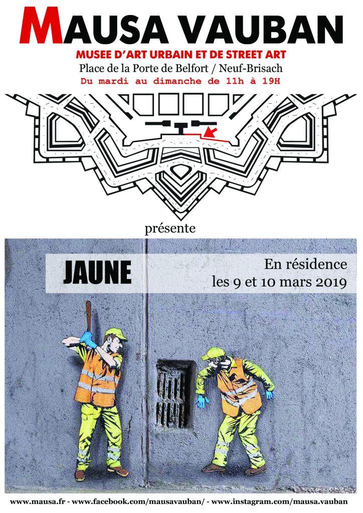 JAUNE (BE) / 9>10-03-2019