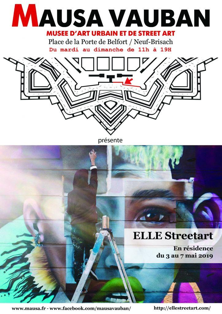 ELLE Streetart (USA) / 03>07-05-2019